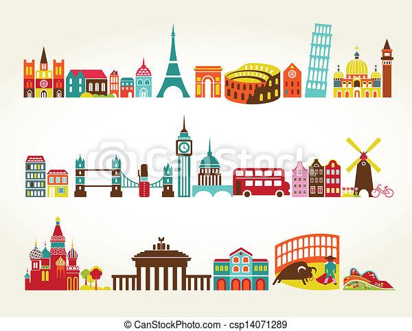 Viajes y lugares turísticos - csp14071289