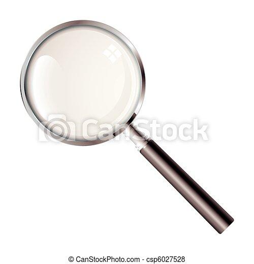 Una lupa - csp6027528
