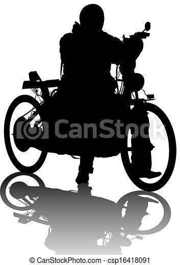 Vieja moto - csp16418091