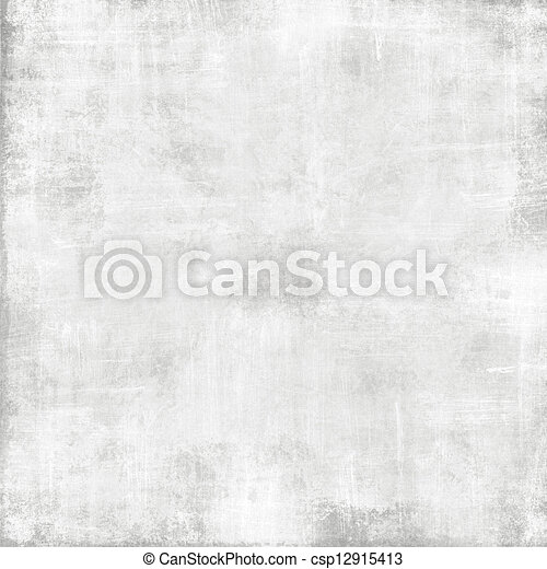 Vieja textura de papel blanco - fondo grunge abstracto - csp12915413