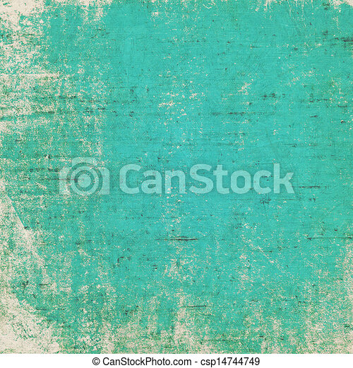 Viejo fondo grunge con delicada textura abstracta - csp14744749