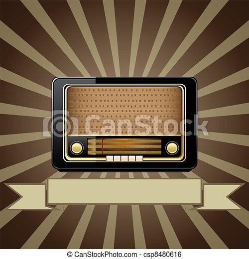 Vieja radio - csp8480616