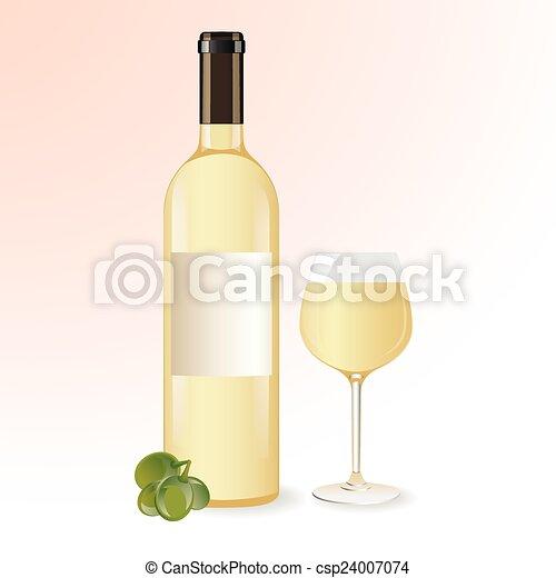 Vino blanco - csp24007074