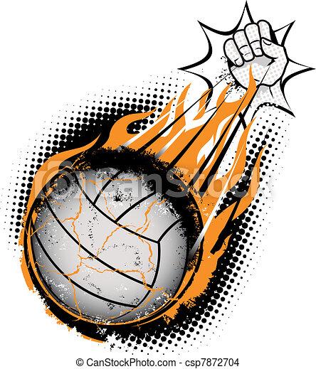 Meteo de voleibol - csp7872704