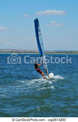 Windsurfer - csp2614260