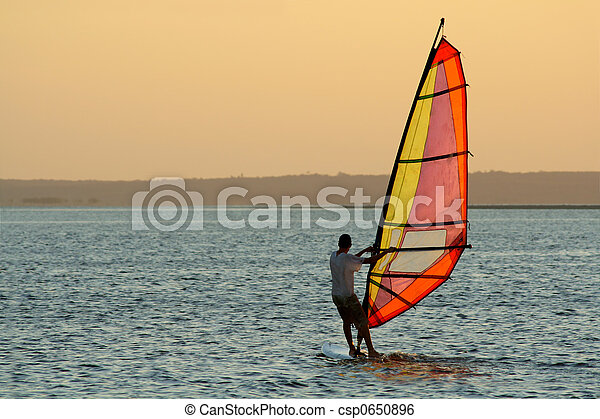 Windsurfer - csp0650896