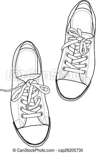 Zapatillas. - csp26205730