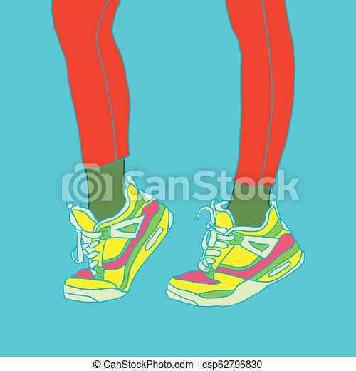 Zapatos deportivos - csp62796830